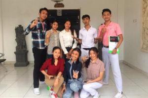 日本語検定の試験に6名の生徒が合格しました