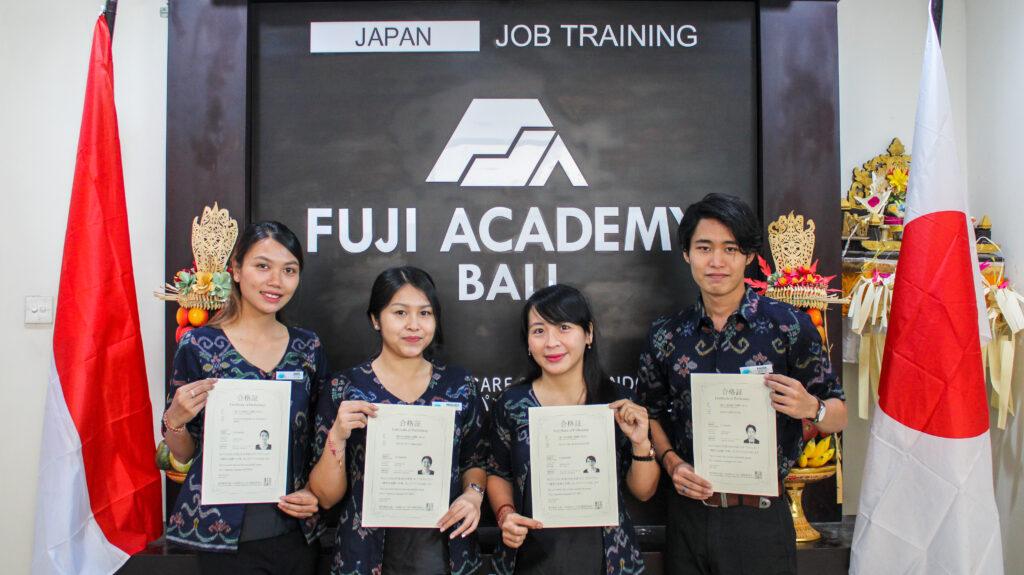 先生の日本語能力のレベルアップ(N1・N2に合格しました!)